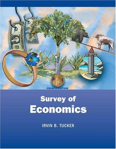 Survey Of Economics: 4th Edition: With Infotrac: Tucker, Irvin B.