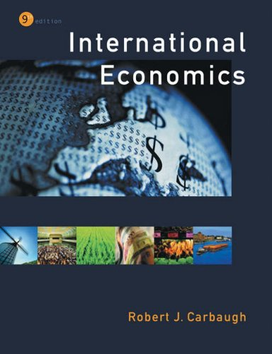 9780324159943: International Economics (with Xtra! and InfoTrac)