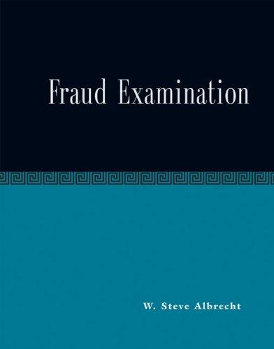 9780324162967: Fraud Examination