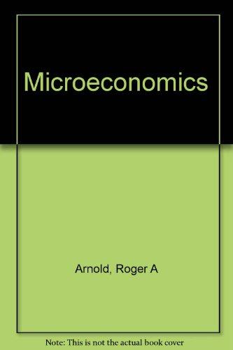 9780324163612: Microeconomics (Study Guide)