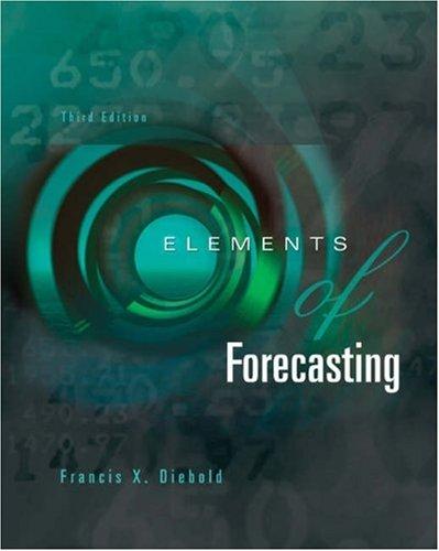9780324163827: Elements of Forecasting