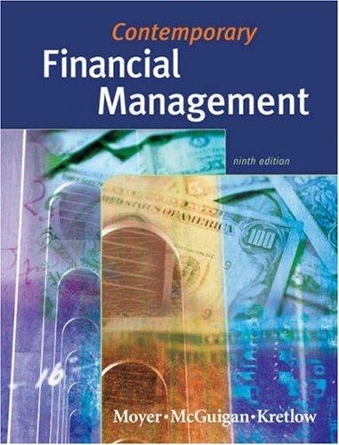 9780324164701: Contemporary Financial Management