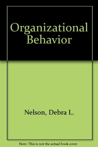 9780324165869: Organizational Behavior with Student CD-ROM