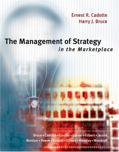 Package: Management of Strategy in the Marketplace with Global Corporate Management in the ...