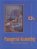 9780324170009: Managerial Accounting