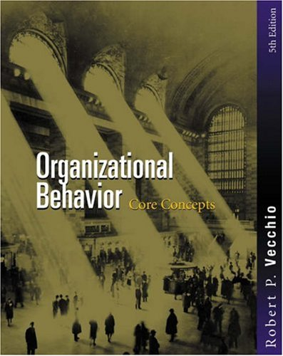 9780324170726: Organizational Behavior