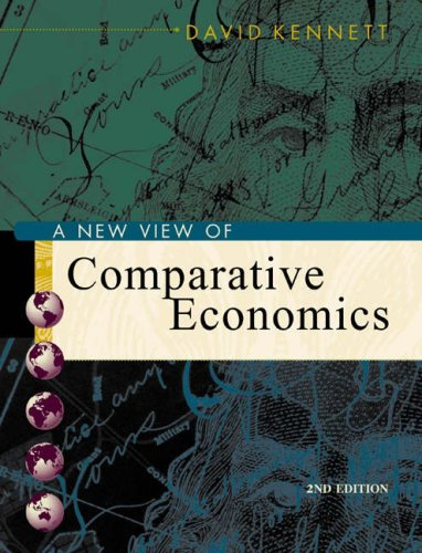 9780324170733: A New View of Comparative Economics with Economic Applications Card and InfoTrac College Edition