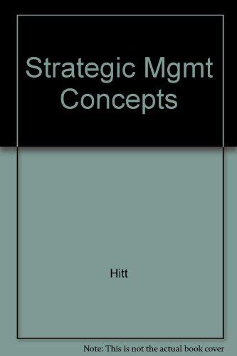 9780324171549: Strategic Management Concepts