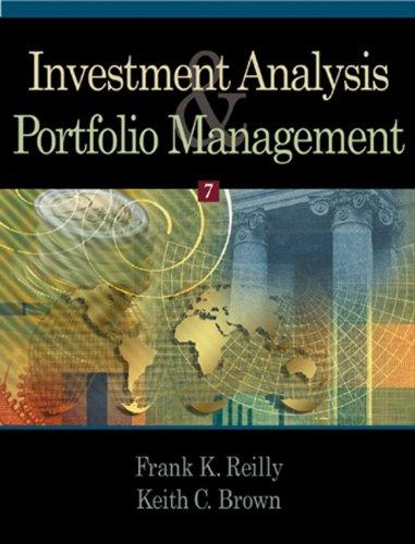 9780324171730: Investment Analysis and Portfolio Management
