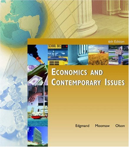 9780324171938: Economics and Contemporary Issues with Economics Applications Card
