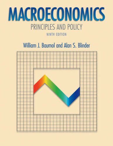 9780324173826: Macroeconomics: Principles and Policy with Xtra! Student CD-ROM