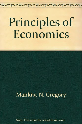9780324173970: Principles of Economics