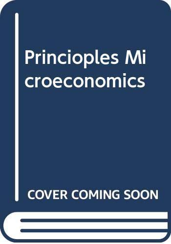 Principles of Microeconomics: Test Bank: Biederman, Daniel K.;
