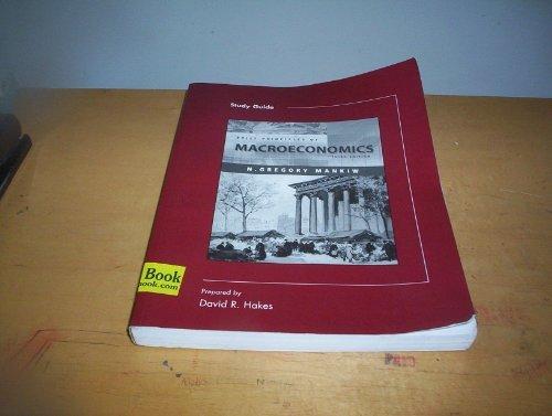 9780324174649: Study Guide to accompany Brief Principles of Macroeconomics