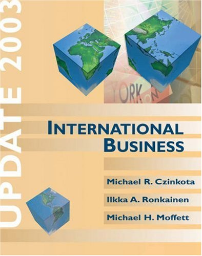 International Business Update 2003: Michael R. Czinkota,