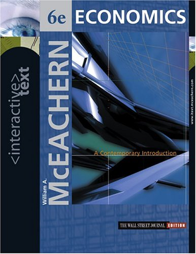 9780324176971: Interactive Text, Economics: A Contemporary Introduction with Access Card and InfoTrac College Edition