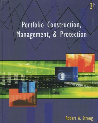 Portfolio Construction, Management and Protection: Strong