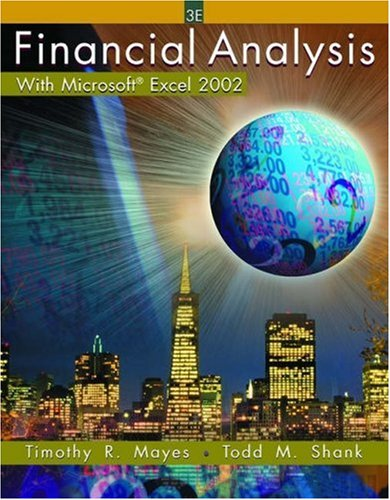 9780324178241: Financial Analysis with Microsoft  Excel 2002