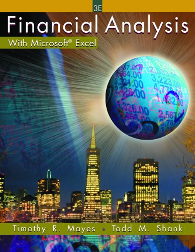 9780324178289: Financial Analysis with Microsoft Excel