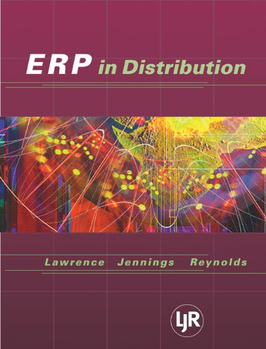 9780324178722: Enterprise Resource Planning in Distribution