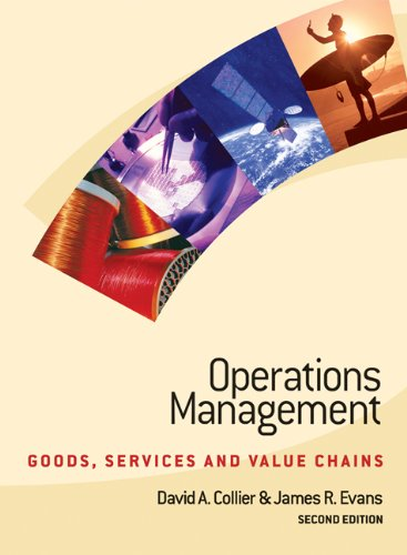9780324179392: Operations Management: Goods, Service, and Value Chains (with CD-ROM and Crystal Ball Pro 2000)