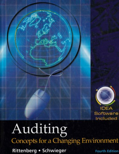 9780324180237: Auditing: Concepts for a Changing Environment with IDEA Software