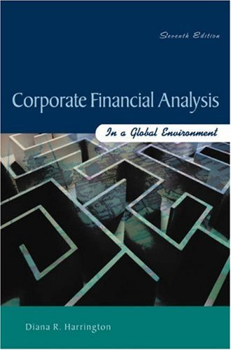 9780324183184: Corporate Financial Analysis in a Global Environment
