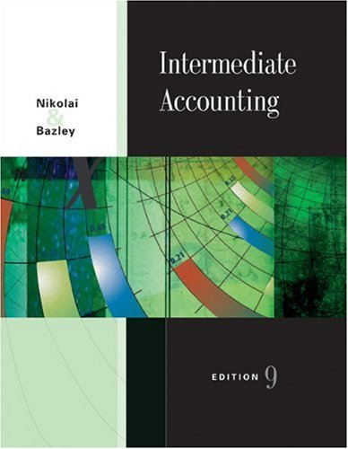 9780324183283: Intermediate Accounting