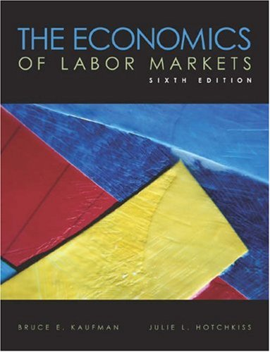 9780324183337: The Economics of Labor Markets