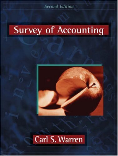 9780324183443: Survey of Accounting