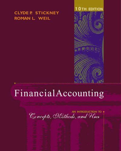 9780324183511: Financial Accounting: An Introduction to Concepts, Methods and Uses