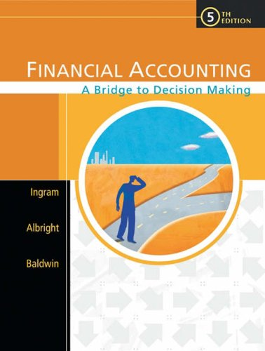 9780324183986: Financial Accounting: A Bridge to Decision Making