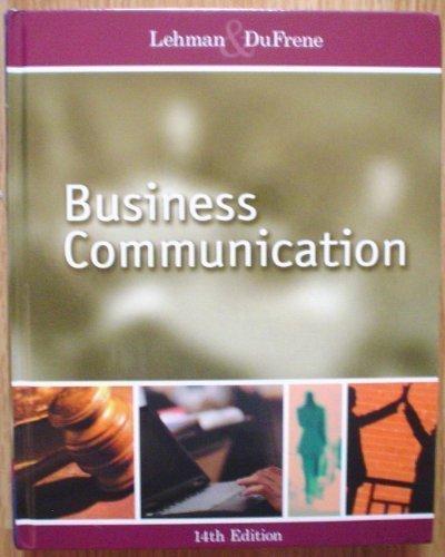 9780324185331: Business Communication