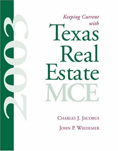 9780324187342: Keeping Current with Texas Real Estate, MCE