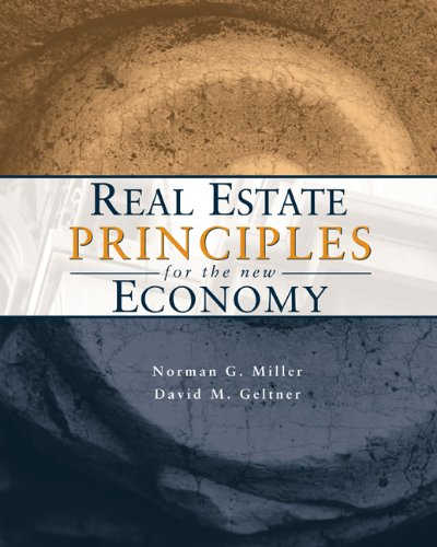 9780324187403: Real Estate Principles for the New Economy