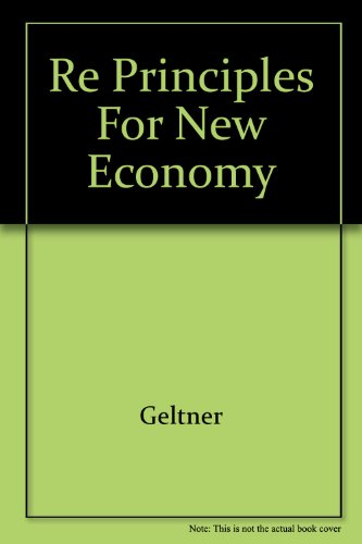 9780324187410: RE Principles for New Economy