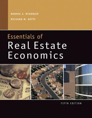 9780324187441: Essentials of Real Estate Economics