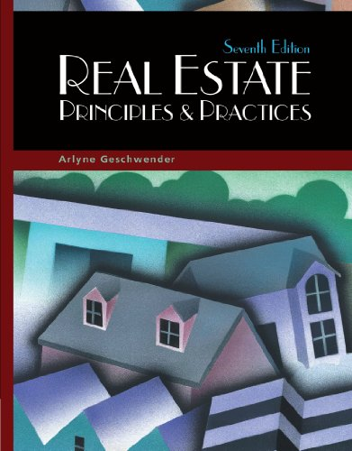 9780324187472: Real Estate Principles and Practices