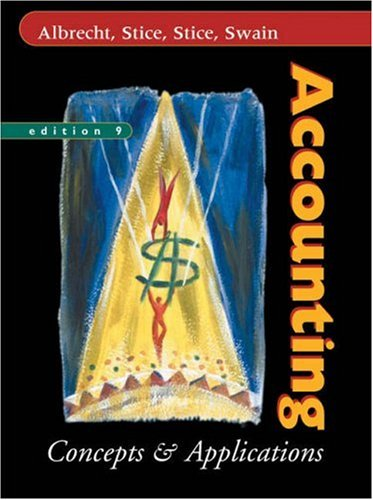 9780324187564: Accounting: Concepts and Applications (Concepts & Applications)