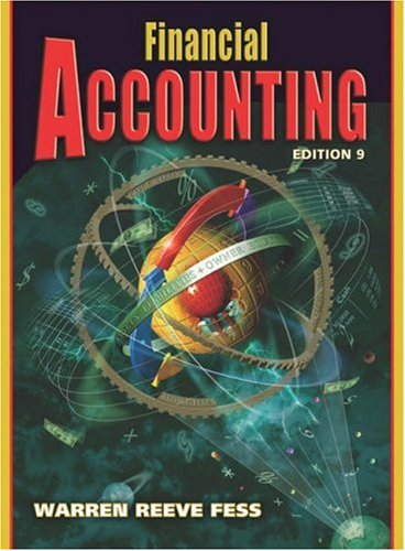 Financial Accounting: Carl S. Warren,