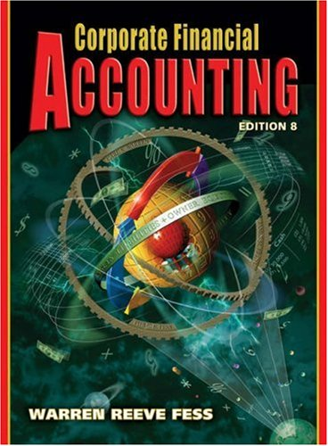 9780324188042: Corporate Financial Accounting