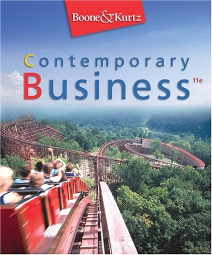 9780324188202: Contemporary Business