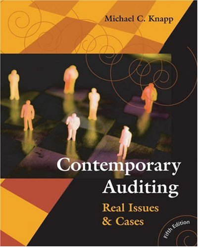 9780324188349: Contemporary Auditing: Real Issues and Cases