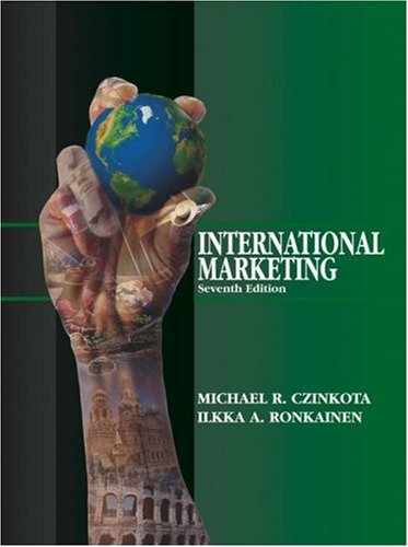 9780324190465: International Marketing