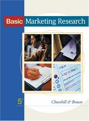 9780324190977: Basic Marketing Research (with InfoTrac)