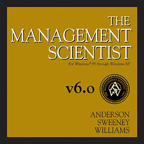 9780324191332: The Management Scientist, Version 6.0