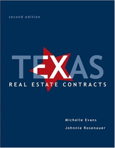 9780324191479: Texas Real Estate Contracts