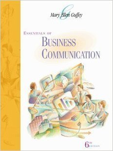 9780324191561: Essentials of Business Communication