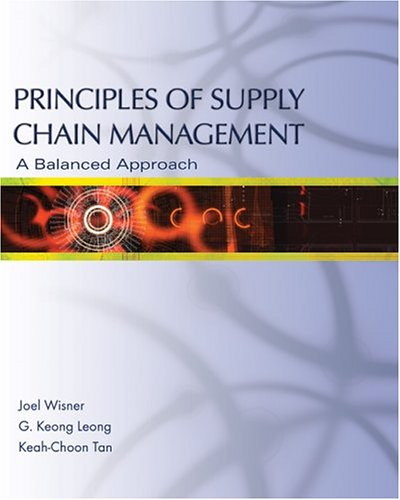 9780324191875: Principles of Supply Chain Management: A Balanced Approach