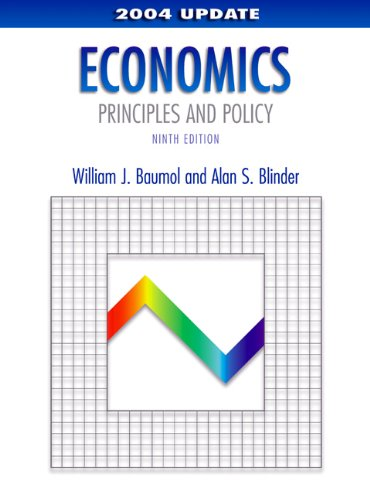 9780324201635: Economics: Principles and Policy, 2004 Update